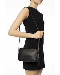 Michael Kors 'jet Set' Shoulder Bag Black