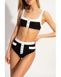 Balmain - Two-piece Swimsuit - Lyst