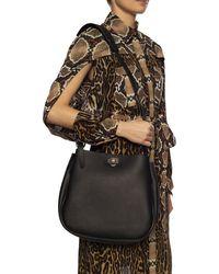 Ferragamo Reverse Leather Hobo - Multicolour