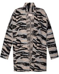 Zadig & Voltaire Patterned Cardigan Grey