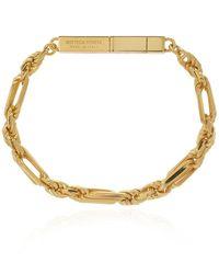 Bottega Veneta Silver Bracelet - Metallic
