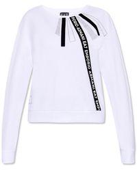 EA7 Crewneck Sweatshirt - White