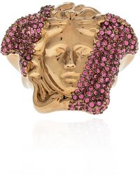 Versace Brass Ring Gold - Metallic