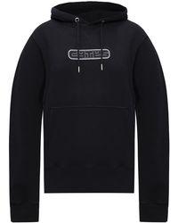Eytys Branded Hoodie - Black