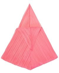 Pleats Please Issey Miyake Pleated Scarf Pink