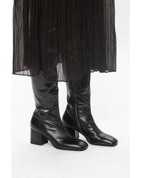 Marni Heeled Over-the-knee Boots Black