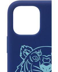 KENZO Iphone 11 Pro Max Case Unisex Navy Blue