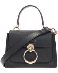 Chloé 'tess Mini' Shoulder Bag - Black