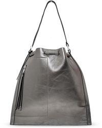 AllSaints 'alpha' Backpack - Metallic