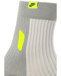 Nike Socks With Logo Grey