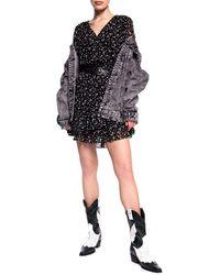 Michael Kors Denim Jacket - Gray