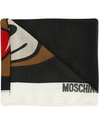 Moschino - Teddy Bear Scarf - Lyst