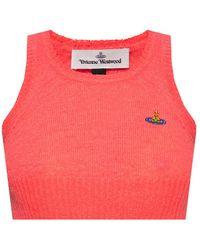 Vivienne Westwood Sleeveless Top - Pink