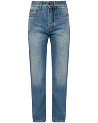 Victoria, Victoria Beckham Jeans With Straight Legs - Blue
