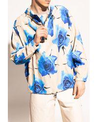 Paul Smith Printed Hoodie - Blue