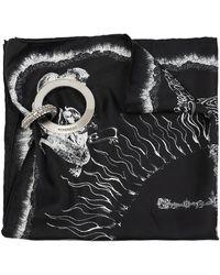 Givenchy Bag Shawl Black