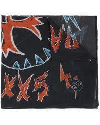 DIESEL Patterned Scarf - Multicolour