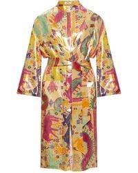 Etro Patterned Kimono Multicolour