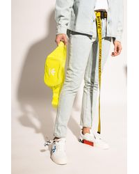 adidas Originals Belt Bag With Logo Neon - Yellow