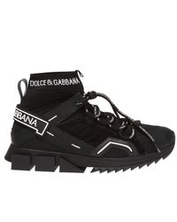 Dolce & Gabbana Sorrento High-top Trekking Sneakers - Black