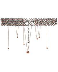 Midgard Paris 'pulsar' Brass Necklace - Metallic