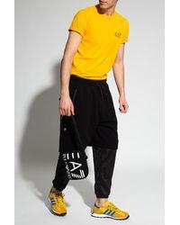EA7 Double-layered Shorts Black