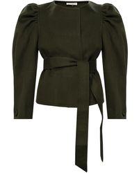 Ulla Johnson 'maxine' Wool Jacket - Green