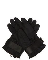 DSquared² Printed Gloves Black