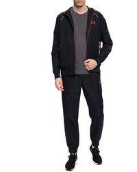 EA7 Sweatshirt And Sweatpants Set Black