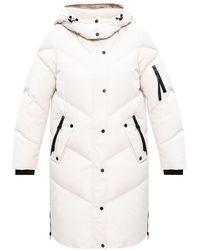 AllSaints 'rory' Puffer Coat - White