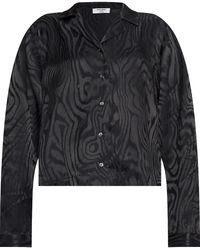Opening Ceremony Patterned Shirt - Black