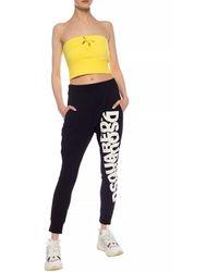 DSquared² Logo-printed Sweatpants Black