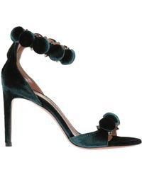 Alaïa - Velvet Ankle - Lyst
