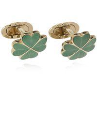 Etro Patterned Cufflinks - Green