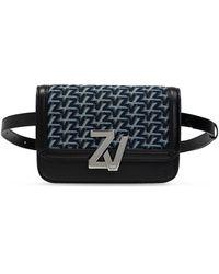 Zadig & Voltaire Patterned Belt Bag - Black