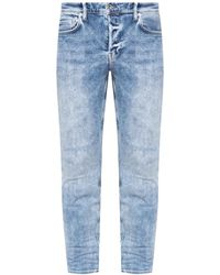 AllSaints 'cigarette' Skinny Jeans - Blue