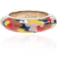 Chloé Brass Ring - Multicolour