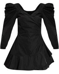RED Valentino Long-sleeved Dress - Black