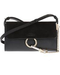 Chloé 'faye' Shoulder Bag - Black