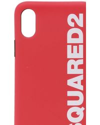 DSquared² Iphone X/xs Case Unisex Red