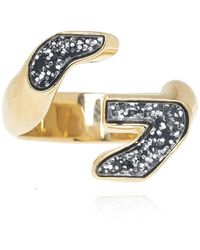 Givenchy Brass Ring - Metallic
