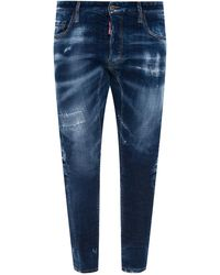 DSquared² 'twin Pack Straight Leg Jean' Jeans Navy Blue