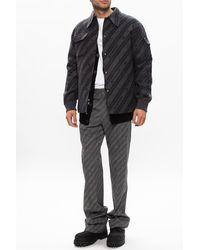 Givenchy Jacket With Logo - Grey