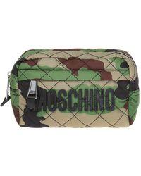Moschino - Camo Wash Bag - Lyst