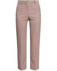 See By Chloé Houndstooth Trousers - Natural