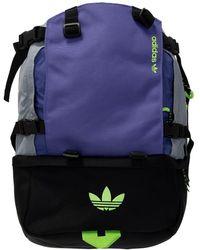 adidas Originals Branded Backpack - Purple