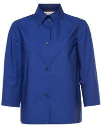 Marni - Shirt With Wide Sleeves - Lyst