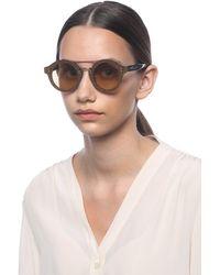 Jimmy Choo 'montie' Sunglasses Brown