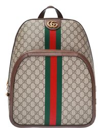 Lyst - Gucci Tiger Embroidered Backpack in Blue for Men b309851c1b852