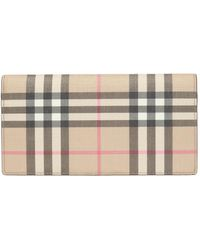 Burberry Folding Wallet - Brown